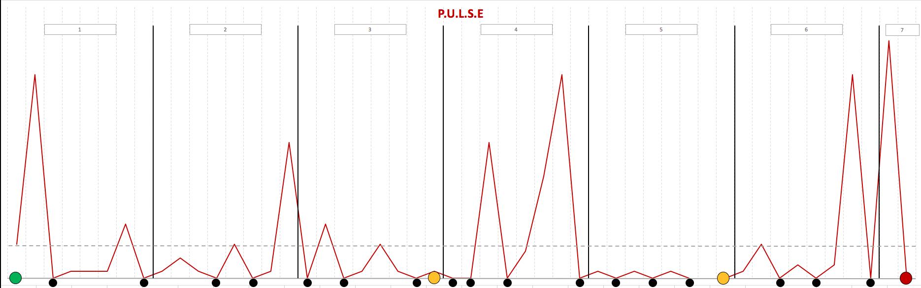 Простой анализ бизнес процессов компании. Методика PULSE