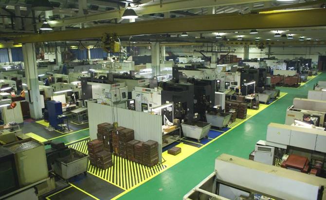 Технологии и концепции улучшения бизнес процессов. Визуализация в производственном цехе